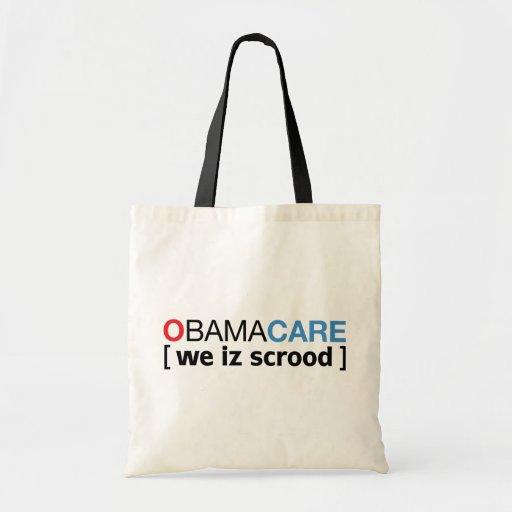 OBAMACARE [ we iz scrood ] Canvas Bags