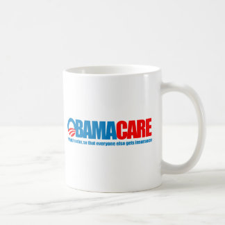 Obamacare - work harder coffee mug