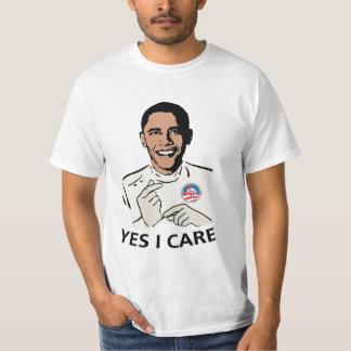 Obamacare Yes I Care T-Shirt