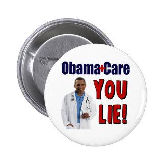 "ObamaCare: ""You Lie!"" Pinback Button"