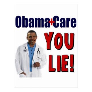 """ObamaCare: """"You Lie!"""" Postcard"""