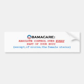 ObamaCareControl Bumper Stickers