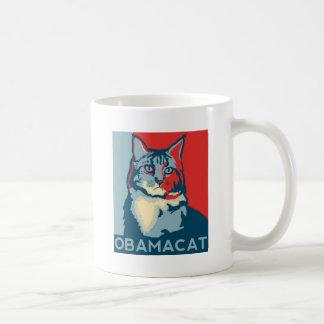 OBAMACAT 150ppi.jpg Coffee Mugs
