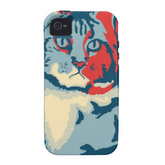OBAMACAT 150ppi.jpg iPhone 4 Cover