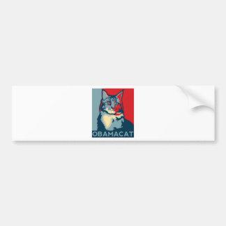OBAMACAT.jpg Bumper Stickers