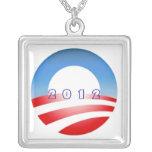 Obamacircle 2012 custom jewelry