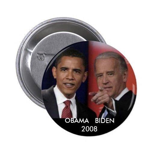 obamadebate, OBAMA   BIDEN2008 Button