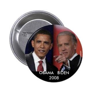 obamadebate, OBAMA   BIDEN2008 Pinback Buttons