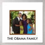 obamafamily, THE OBAMA FAMILY Poster