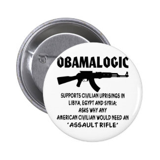Obamalogic Supports Civilian Uprising in Syria & Button