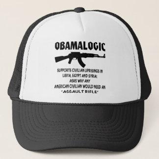 Obamalogic Supports Civilian Uprising in Syria & Trucker Hat