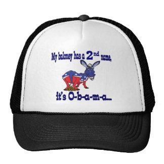 Obamaloney  My Baloney Has a 2nd Name cap Trucker Hat
