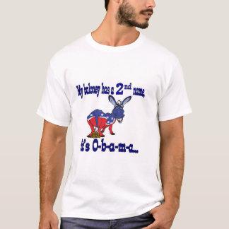 Obamaloney! My Baloney Has A 2nd Name tee shirt