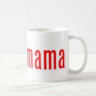 Obamamama 1 classic white coffee mug