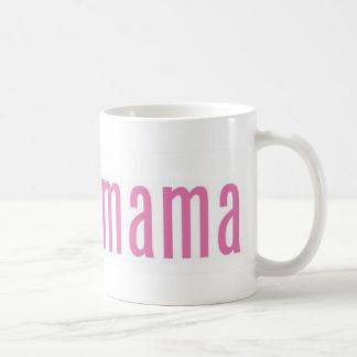 Obamamama 2 classic white coffee mug