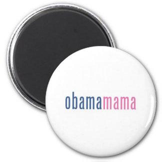 Obamamama 2 fridge magnets