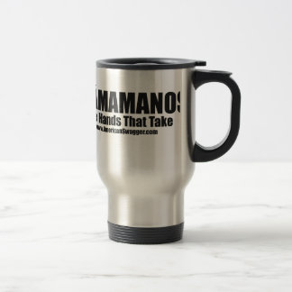 Obamamanos: The Hands That Take 15 Oz Stainless Steel Travel Mug