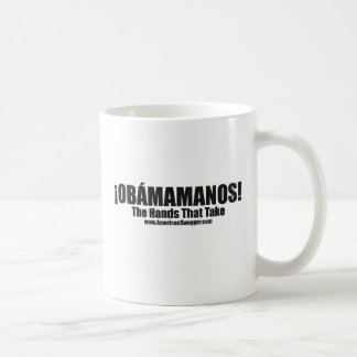 Obamamanos: The Hands That Take Classic White Coffee Mug