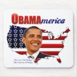 ObamAmerica Mousepad Alfombrillas De Raton