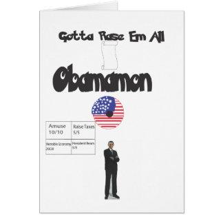 Obamamon - Gotta Rase Em All! Card