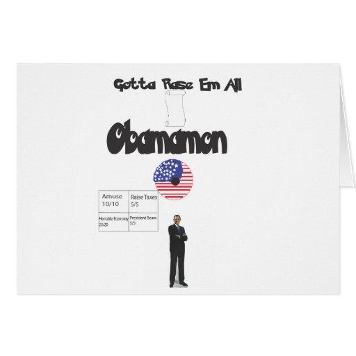 Obamamon - Gotta Rase Em All! Cards