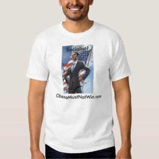 Obamamustnotwin T-shirt
