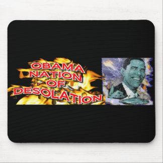 ObamaNation ABOMINATION DESOLATION Mouse Pad