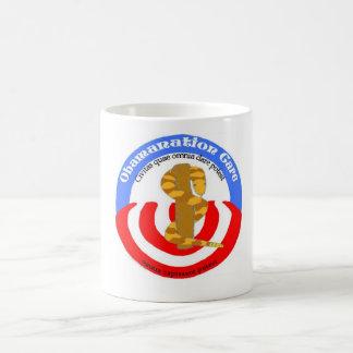 obamanation care latin coffee mug