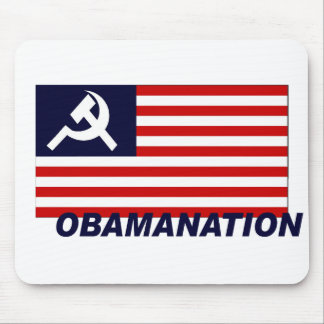 Obamanation Mouse Pad