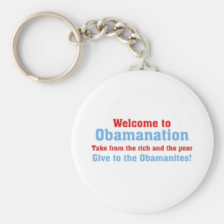 Obamanation: Take from the rich AND the poor Key Chain