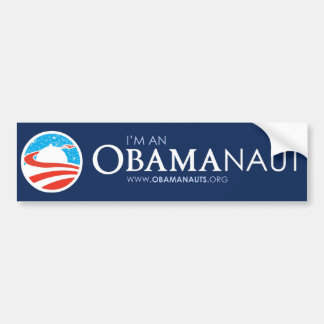 Obamanauts - Bumper Sticker