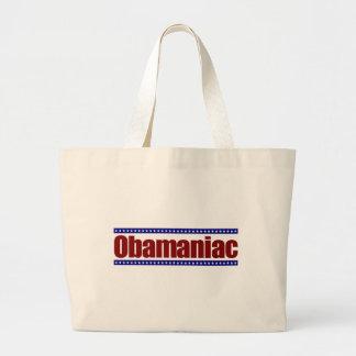 Obamaniac Tote Bags