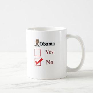 obamano classic white coffee mug