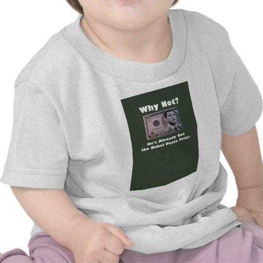 ObamaNobel T Shirts