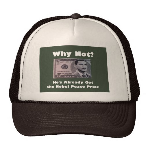 ObamaNobel Trucker Hat