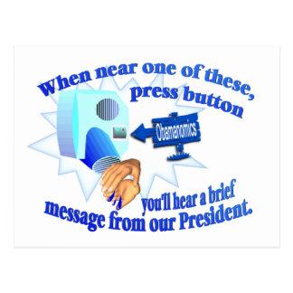 ¡Obamanomics anti - Obamanomics está dañando Améri Postal