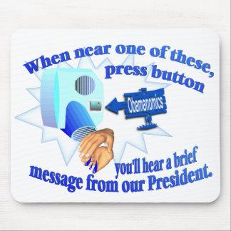 ¡Obamanomics anti - Obamanomics está dañando Mousepad