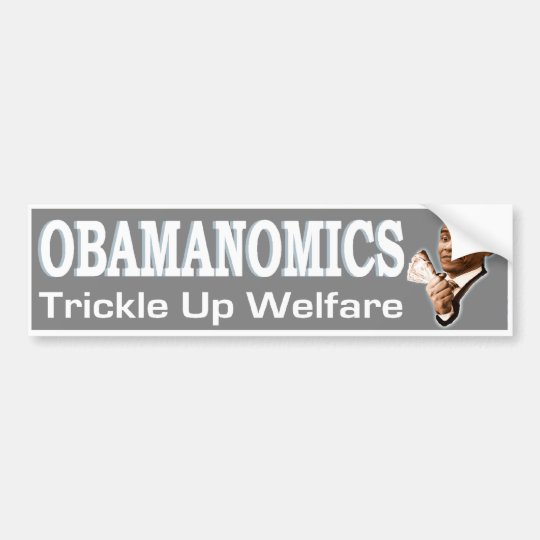 Obamanomics Bumper Sticker
