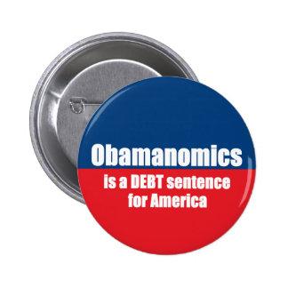 Obamanomics Pinback Buttons