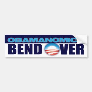 Obamanomics Pegatina De Parachoque