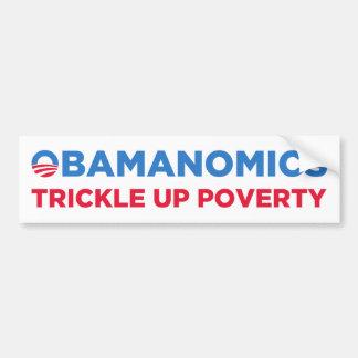 Obamanomics Pegatina Para Auto