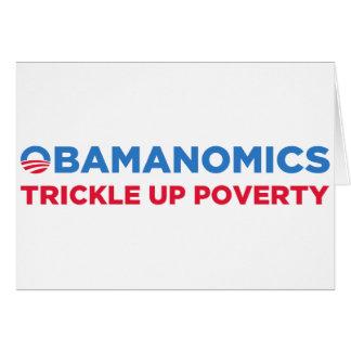 Obamanomics Card
