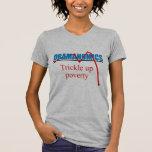 Obamanomics - chorrito encima de la pobreza camiseta