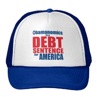 Obamanomics - Debt Sentence Hats