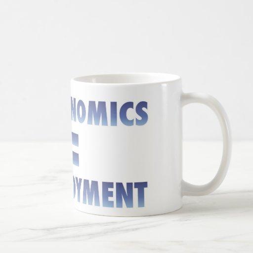 Obamanomics Equals Unemployment Mugs