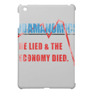 Obamanomics - He lied and the economy died Faded p iPad Mini Covers