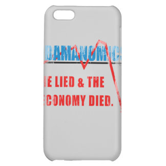 Obamanomics - He lied and the economy died Faded.p iPhone 5C Cases