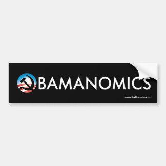Obamanomics Hope Hammer Sticker Car Bumper Sticker