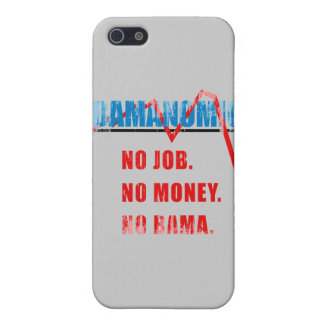 Obamanomics - No job. No money. Nobama Faded.png iPhone 5 Case