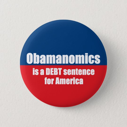Obamanomics Pinback Button